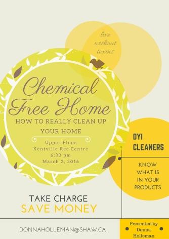 Chem Free Home Class